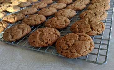 Honey Roasted Peanut Butter Cookies