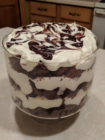 Delicious Mexican Hot Chocolate Trifle