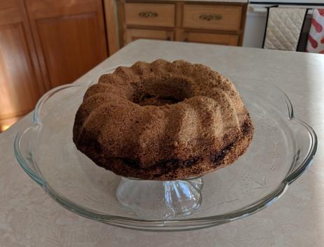 Cinnamon Struesel Bundt Cake